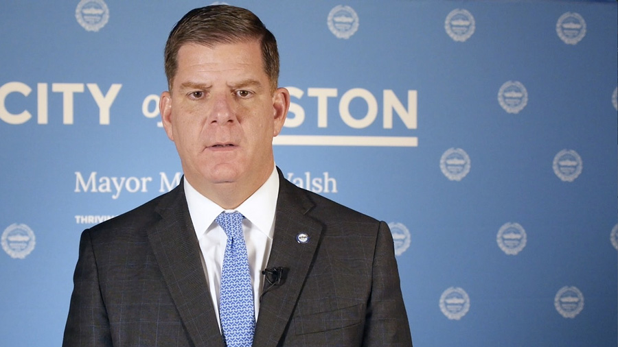 Mayor Marty Walsh announces One Boston Day